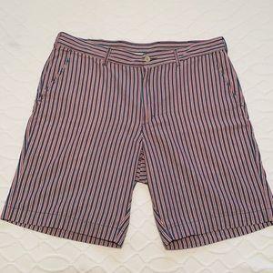 Bills Khakis Red White Blue Striped Men's Shorts